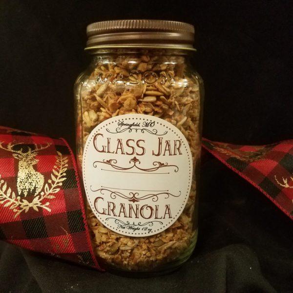 Glass Jar Granola