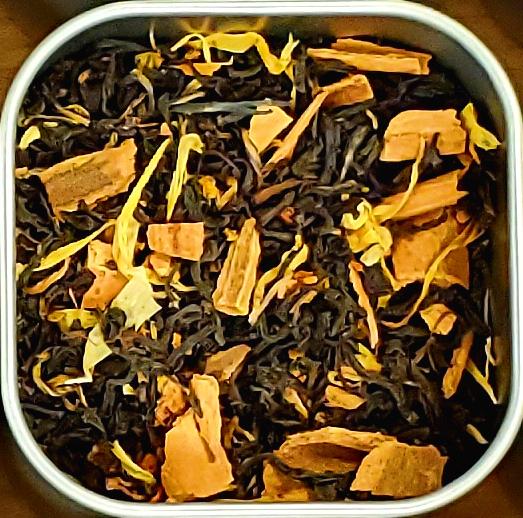 Orange-Cinnamon Assam Tea